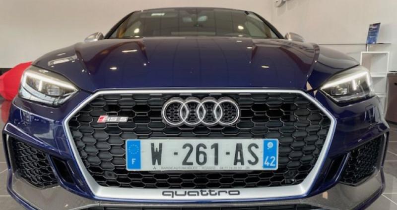 Audi RS5 Coupé II 2.9 TFSI 450 QUATTRO TIPTRONIC 8 Bleu occasion à Saint Vincent De Boisset - photo n°3