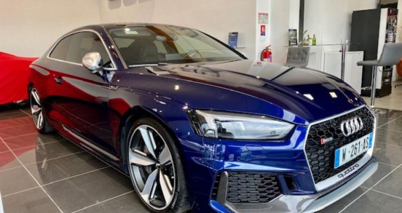 Audi RS5 Coupé II 2.9 TFSI 450 QUATTRO TIPTRONIC 8 Bleu occasion à Saint Vincent De Boisset - photo n°2