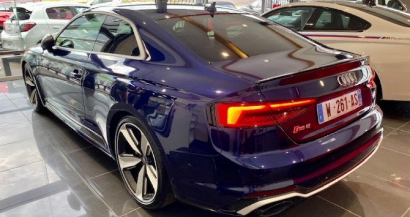 Audi RS5 Coupé II 2.9 TFSI 450 QUATTRO TIPTRONIC 8 Bleu occasion à Saint Vincent De Boisset - photo n°5