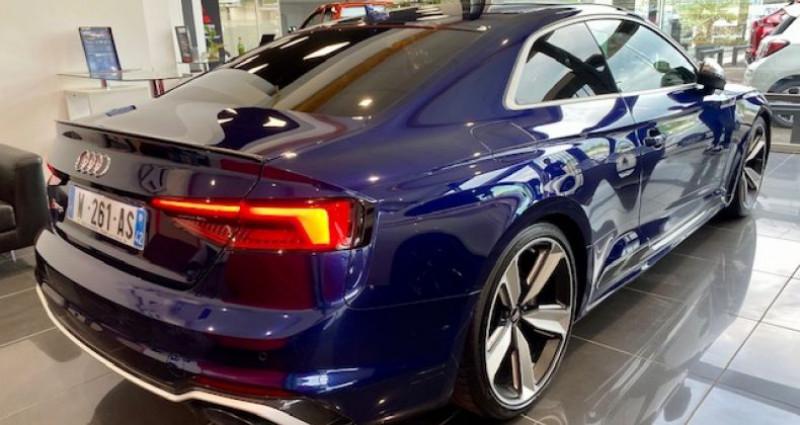 Audi RS5 Coupé II 2.9 TFSI 450 QUATTRO TIPTRONIC 8 Bleu occasion à Saint Vincent De Boisset - photo n°4