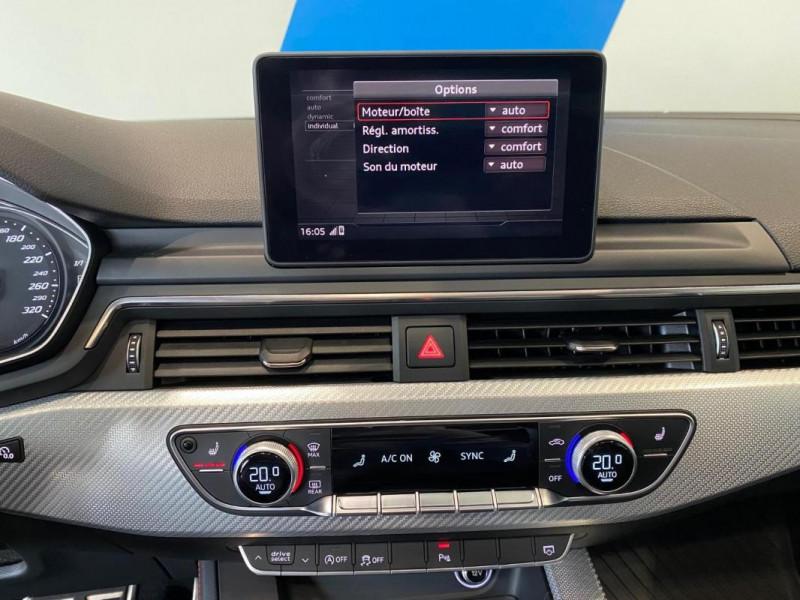 Audi RS5 Coupé V6 2.9 TFSi 450 Tiptronic 8 Quattro Gris occasion à SAINT-GREGOIRE - photo n°10