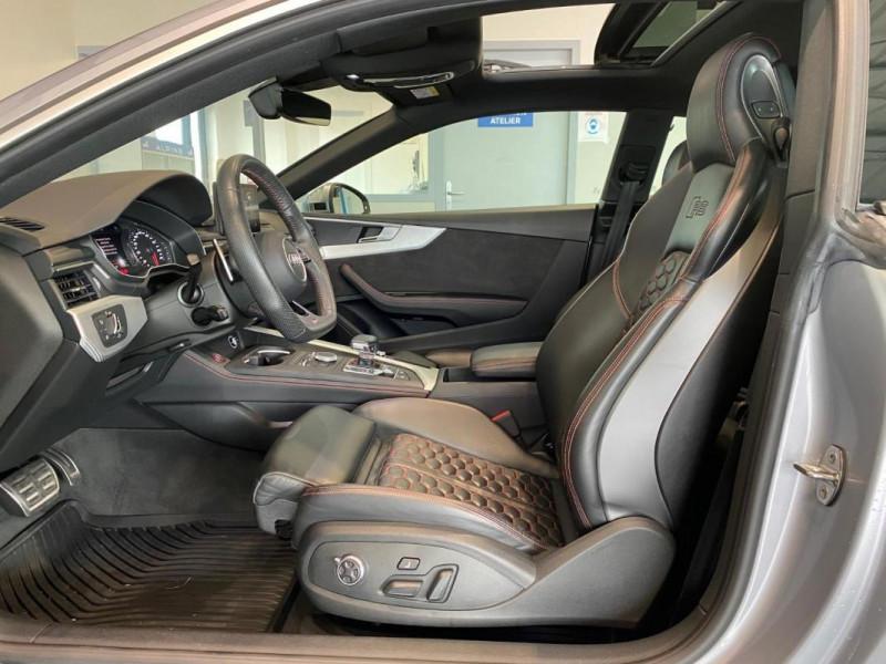 Audi RS5 Coupé V6 2.9 TFSi 450 Tiptronic 8 Quattro Gris occasion à SAINT-GREGOIRE - photo n°8
