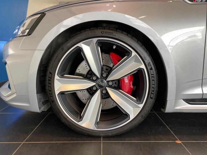Audi RS5 Coupé V6 2.9 TFSi 450 Tiptronic 8 Quattro Gris occasion à SAINT-GREGOIRE - photo n°6