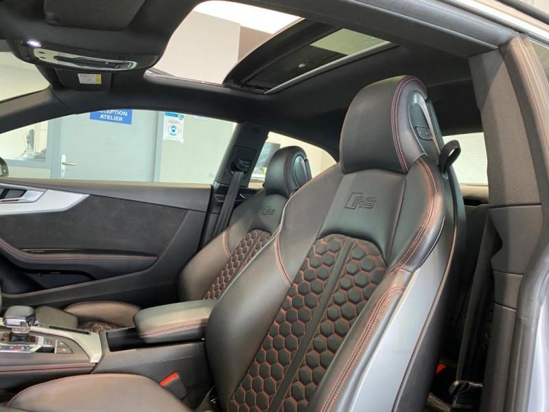 Audi RS5 Coupé V6 2.9 TFSi 450 Tiptronic 8 Quattro Gris occasion à SAINT-GREGOIRE - photo n°14