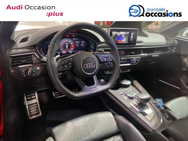 Audi RS5 RS5 Coupé V6 2.9 TFSi 450 Tiptronic 8 Quattro  2p Rouge occasion à Seynod - photo n°11