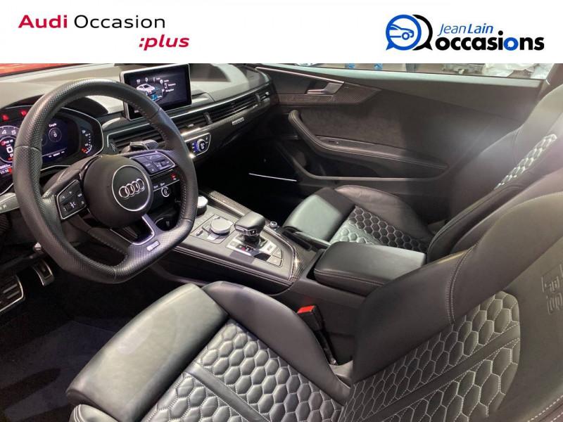 Audi RS5 RS5 Coupé V6 2.9 TFSi 450 Tiptronic 8 Quattro  2p Rouge occasion à Seynod - photo n°18