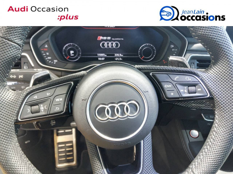 Audi RS5 RS5 Sportback V6 2.9 TFSi 450 Tiptronic 8 Quattro  4p Gris occasion à Annemasse - photo n°12