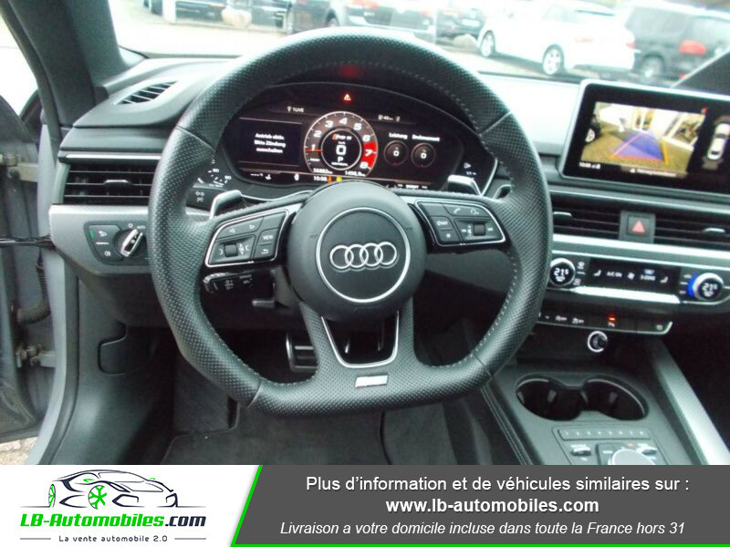 Audi RS5 V6 2.9 TFSi 450 Tiptronic 8 Quattro Gris occasion à Beaupuy - photo n°2