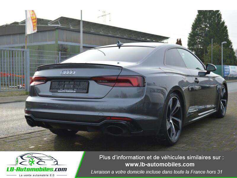Audi RS5 V6 2.9 TFSi 450 Tiptronic 8 Quattro Gris occasion à Beaupuy - photo n°3