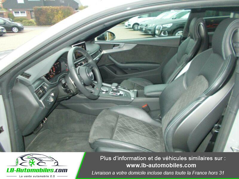 Audi RS5 V6 2.9 TFSi 450 Tiptronic 8 Quattro Gris occasion à Beaupuy - photo n°4