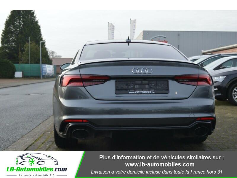 Audi RS5 V6 2.9 TFSi 450 Tiptronic 8 Quattro Gris occasion à Beaupuy - photo n°13