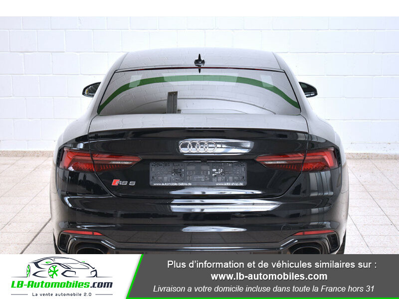 Audi RS5 V6 2.9 TFSi 450 Tiptronic 8 Quattro Noir occasion à Beaupuy - photo n°13