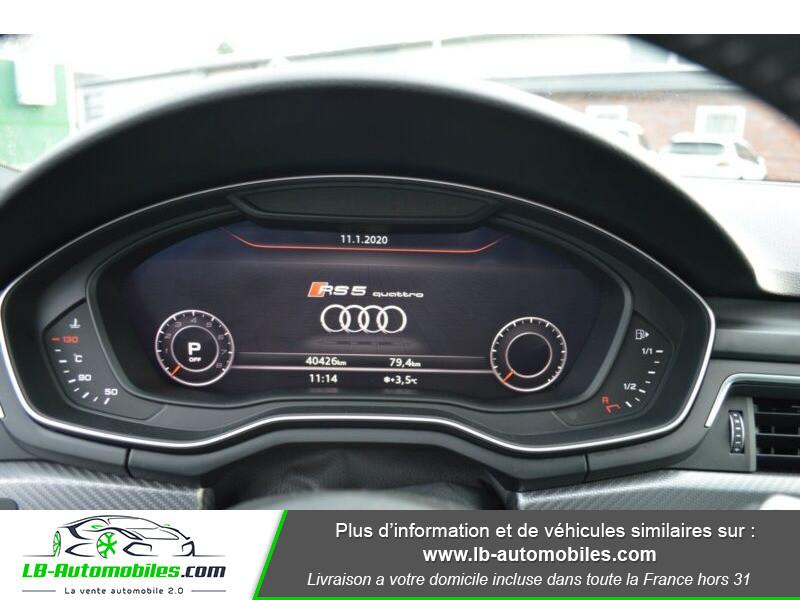Audi RS5 V6 2.9 TFSi 450 Tiptronic 8 Quattro Gris occasion à Beaupuy - photo n°10