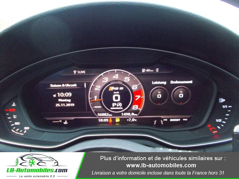Audi RS5 V6 2.9 TFSi 450 Tiptronic 8 Quattro Gris occasion à Beaupuy - photo n°11