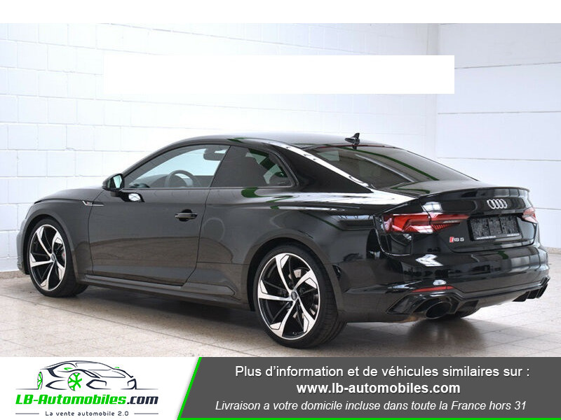Audi RS5 V6 2.9 TFSi 450 Tiptronic 8 Quattro Noir occasion à Beaupuy - photo n°12