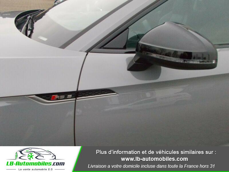 Audi RS5 V6 2.9 TFSi 450 Tiptronic 8 Quattro Gris occasion à Beaupuy - photo n°6