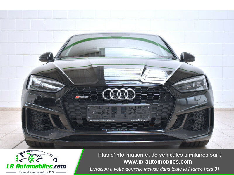 Audi RS5 V6 2.9 TFSi 450 Tiptronic 8 Quattro Noir occasion à Beaupuy - photo n°15