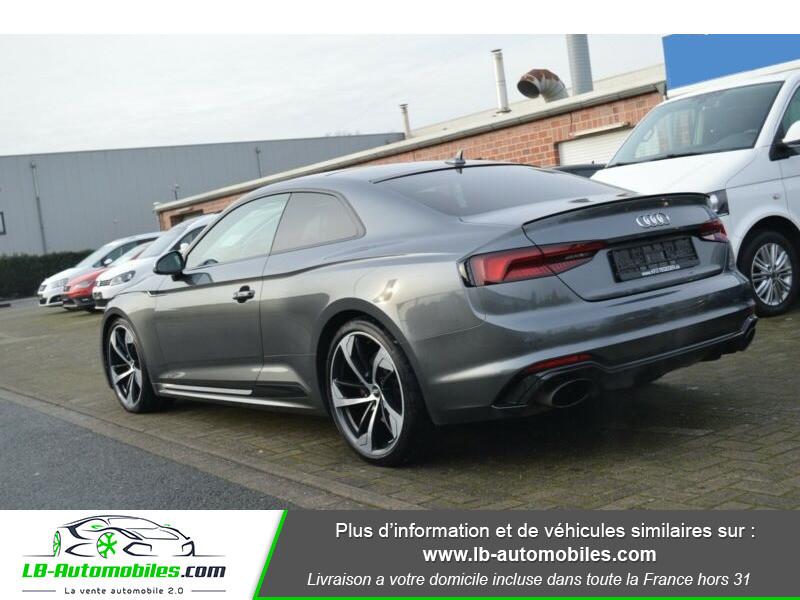 Audi RS5 V6 2.9 TFSi 450 Tiptronic 8 Quattro Gris occasion à Beaupuy - photo n°14