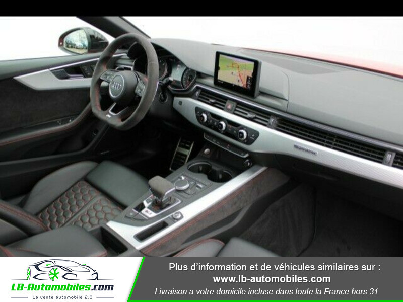 Audi RS5 V6 2.9 TFSi 450 Tiptronic 8 Quattro Rouge occasion à Beaupuy - photo n°3