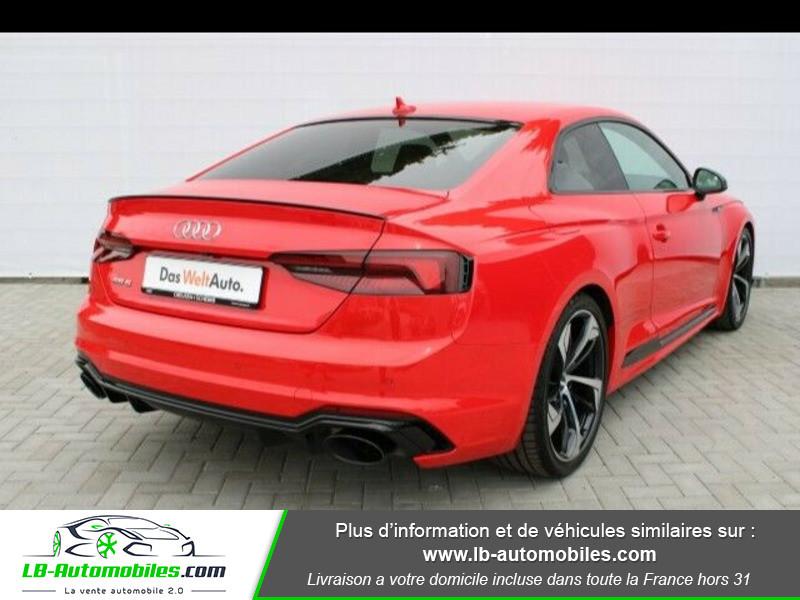 Audi RS5 V6 2.9 TFSi 450 Tiptronic 8 Quattro Rouge occasion à Beaupuy - photo n°2