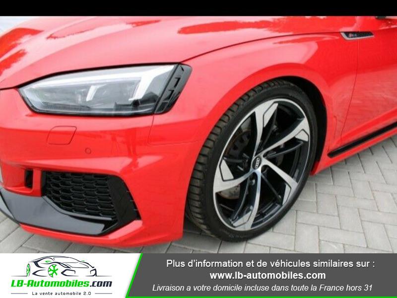 Audi RS5 V6 2.9 TFSi 450 Tiptronic 8 Quattro Rouge occasion à Beaupuy - photo n°9