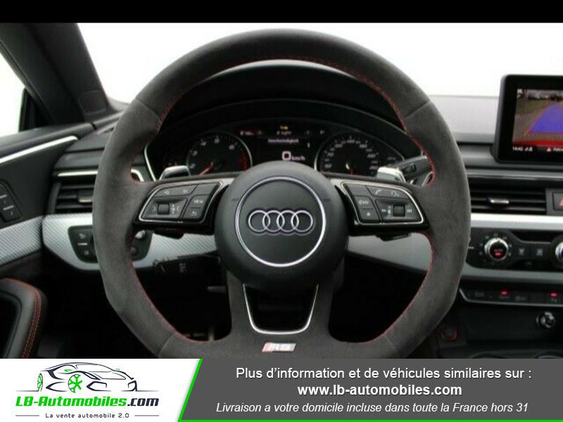 Audi RS5 V6 2.9 TFSi 450 Tiptronic 8 Quattro Rouge occasion à Beaupuy - photo n°4