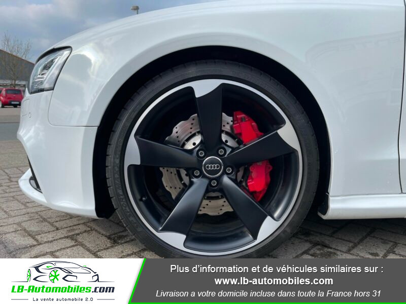 Audi RS5 V8 4.2 FSi 450 / Quattro S-Tronic 7 Blanc occasion à Beaupuy - photo n°14