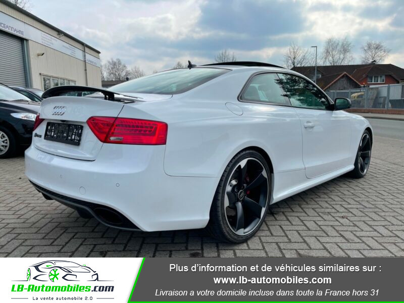 Audi RS5 V8 4.2 FSi 450 / Quattro S-Tronic 7 Blanc occasion à Beaupuy - photo n°3