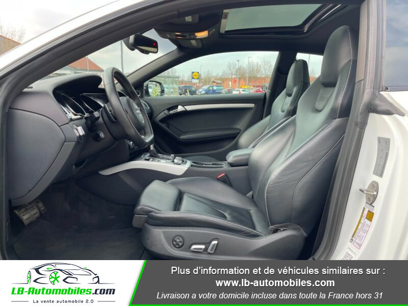 Audi RS5 V8 4.2 FSi 450 / Quattro S-Tronic 7 Blanc occasion à Beaupuy - photo n°4