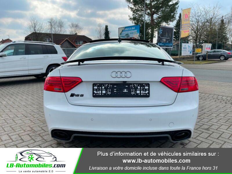Audi RS5 V8 4.2 FSi 450 / Quattro S-Tronic 7 Blanc occasion à Beaupuy - photo n°13