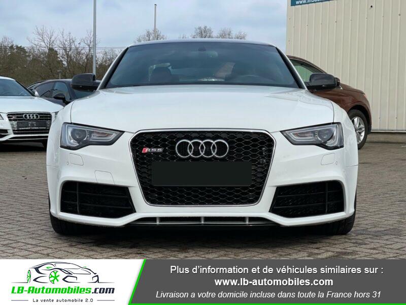 Audi RS5 V8 4.2 FSi 450 / Quattro S-Tronic 7 Blanc occasion à Beaupuy - photo n°12