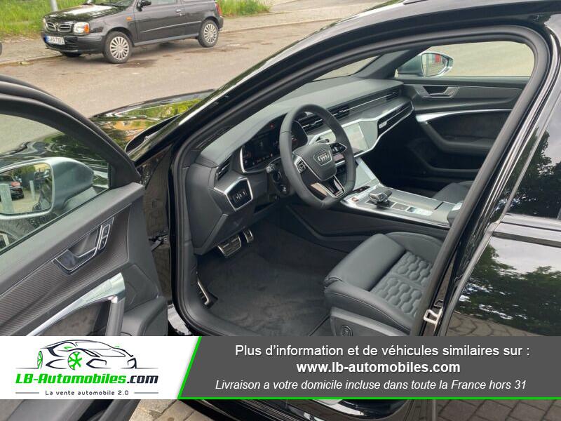 Audi RS6 Avant V8 4.0 TFSI 600 Tiptronic 8 Quattro Noir occasion à Beaupuy - photo n°10