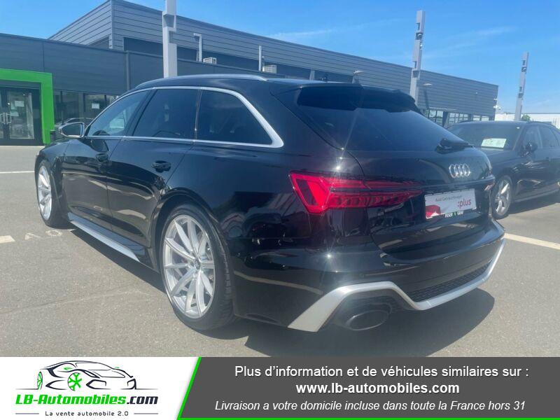 Audi RS6 Avant V8 4.0 TFSI 600 Tiptronic 8 Quattro Noir occasion à Beaupuy - photo n°4