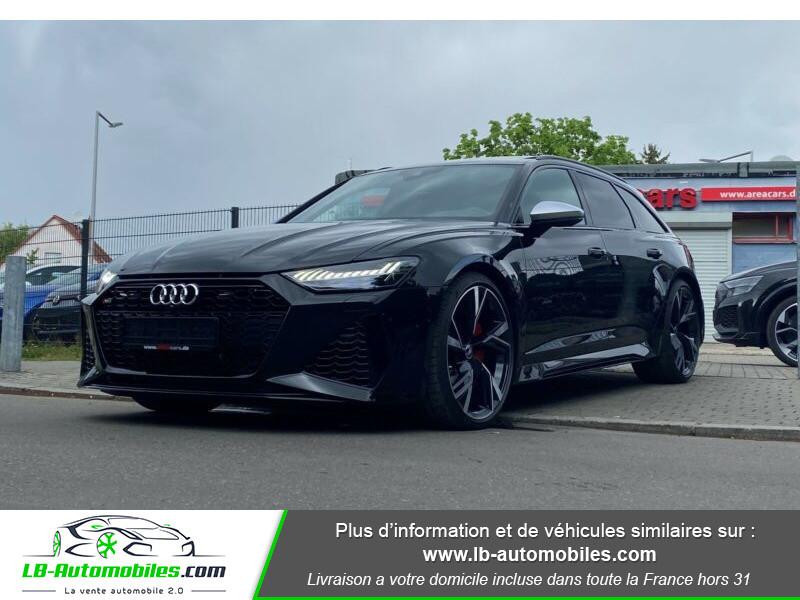 Audi RS6 Avant V8 4.0 TFSI 600 Tiptronic 8 Quattro Noir occasion à Beaupuy - photo n°19