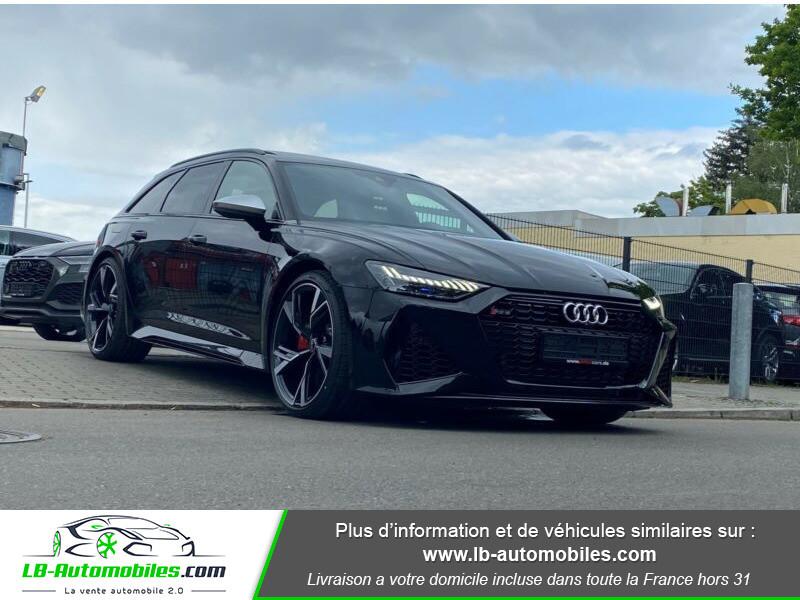 Audi RS6 Avant V8 4.0 TFSI 600 Tiptronic 8 Quattro Noir occasion à Beaupuy - photo n°17