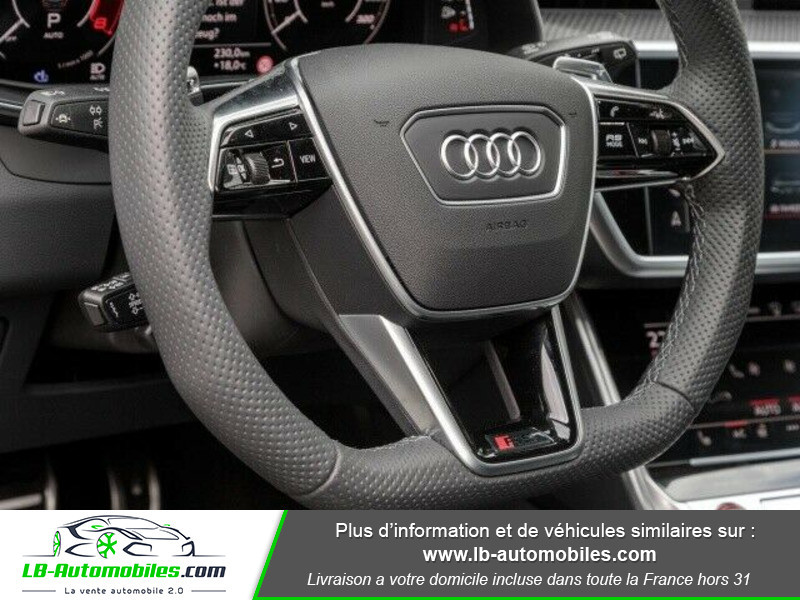 Audi RS6 Avant V8 4.0 TFSI 600 Tiptronic 8 Quattro Blanc occasion à Beaupuy - photo n°9