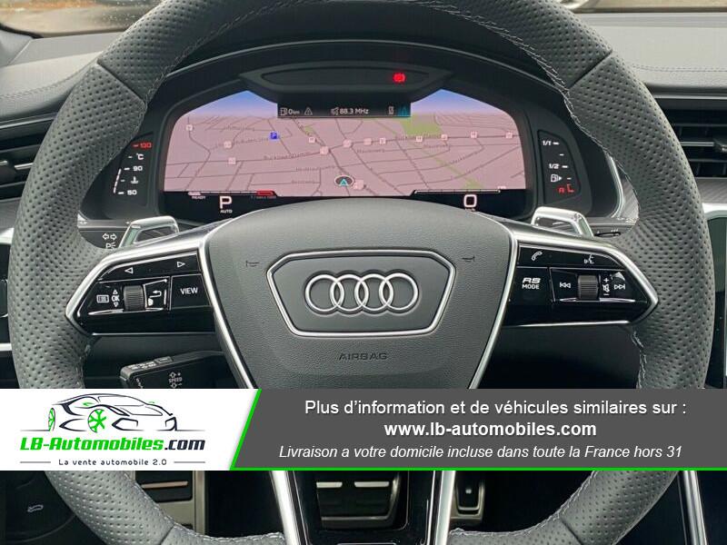 Audi RS6 Avant V8 4.0 TFSI 600 Tiptronic 8 Quattro Noir occasion à Beaupuy - photo n°8