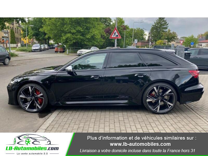 Audi RS6 Avant V8 4.0 TFSI 600 Tiptronic 8 Quattro Noir occasion à Beaupuy - photo n°15