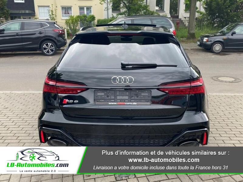 Audi RS6 Avant V8 4.0 TFSI 600 Tiptronic 8 Quattro Noir occasion à Beaupuy - photo n°3