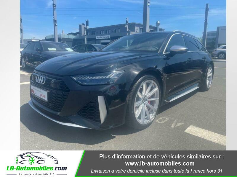 Audi RS6 Avant V8 4.0 TFSI 600 Tiptronic 8 Quattro Noir occasion à Beaupuy