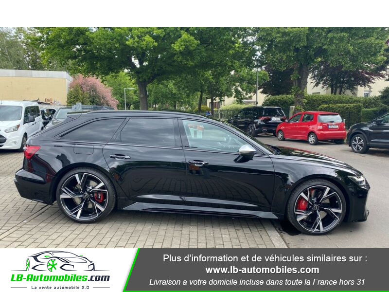 Audi RS6 Avant V8 4.0 TFSI 600 Tiptronic 8 Quattro Noir occasion à Beaupuy - photo n°16