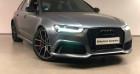 Audi RS6 4.0 V8 TFSI 605ch performance quattro Tiptronic Gris à Nice 06
