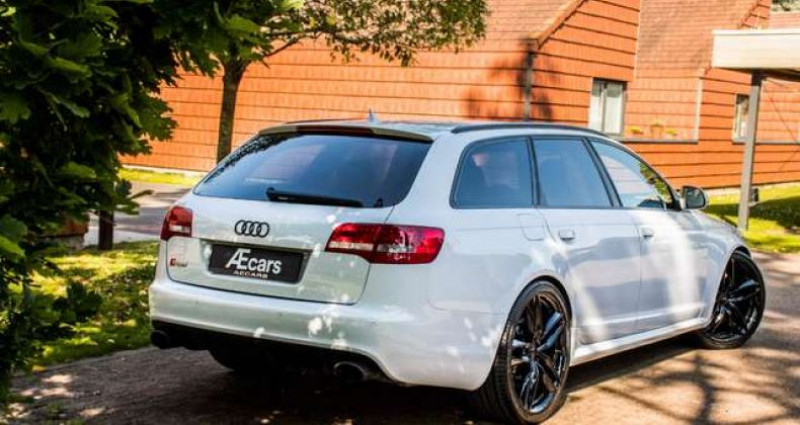 Audi RS6 5.0-V10 - QUATTRO - TIPTRONIC - SUZUKA GREY Gris occasion à IZEGEM - photo n°4