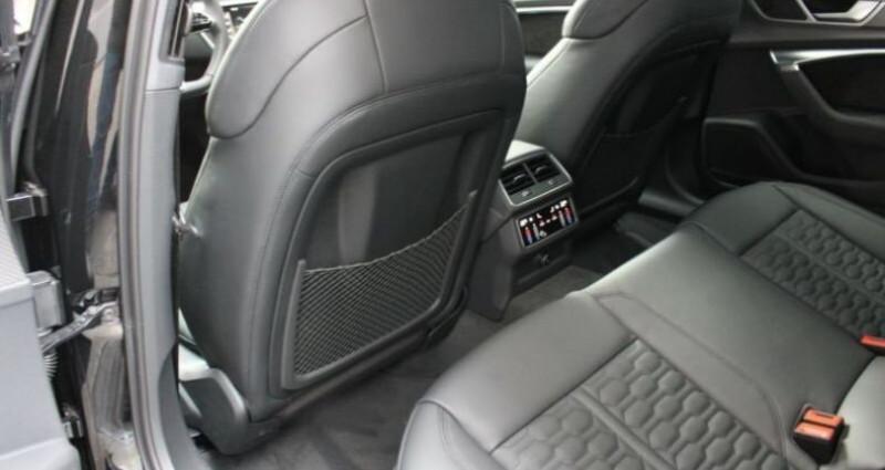 Audi RS6 Avant 4.0 TDI Noir occasion à Montévrain - photo n°7