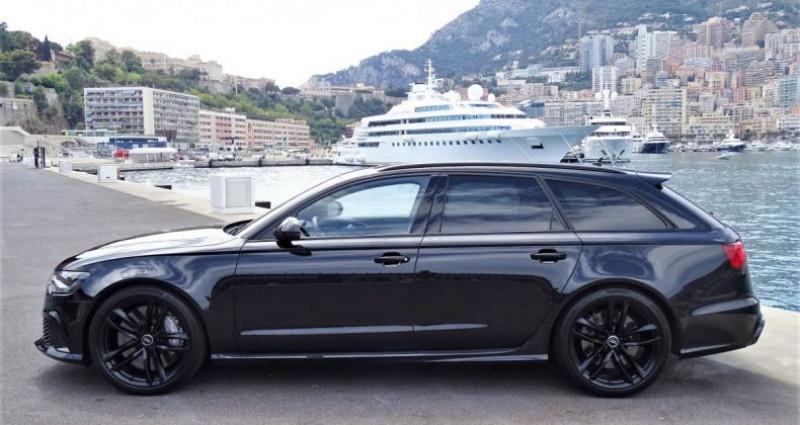 Audi RS6 AVANT 4.0 TFSI QUATTRO 560 CV - MONACO Noir occasion à MONACO - photo n°4
