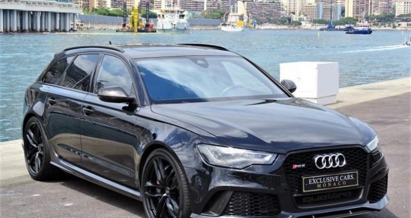 Audi RS6 AVANT 4.0 TFSI QUATTRO 560 CV - MONACO Noir occasion à MONACO - photo n°3