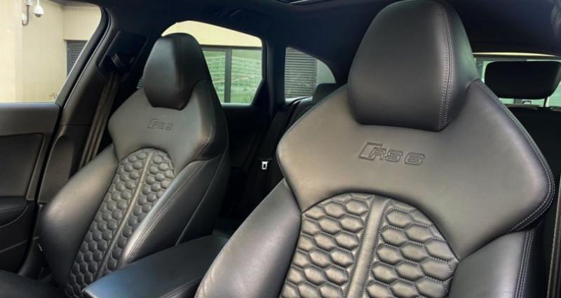Audi RS6 AVANT 4.0 TFSI QUATTRO 560 CV - MONACO Noir occasion à MONACO - photo n°7