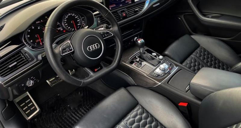 Audi RS6 AVANT 4.0 TFSI QUATTRO 560 CV - MONACO Noir occasion à MONACO - photo n°6