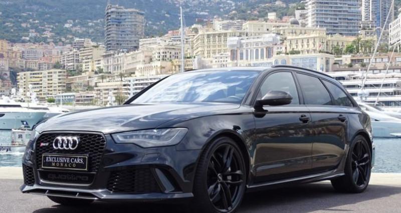 Audi RS6 AVANT 4.0 TFSI QUATTRO 560 CV - MONACO Noir occasion à MONACO - photo n°5