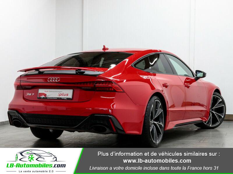 Audi RS7 V8 4.0 TFSI 600ch / Quattro Tiptronic 8 Rouge occasion à Beaupuy - photo n°3